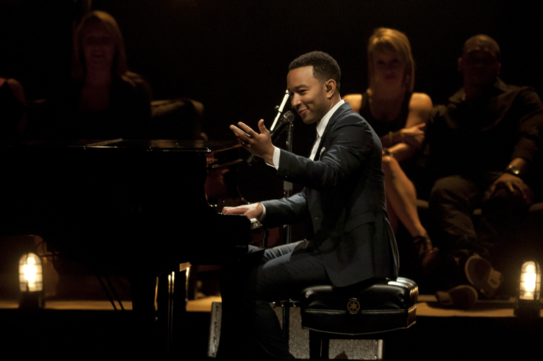 John Legend performs at Old National Centre, Friday, May 9, 2014.